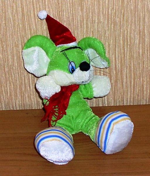 Игрушка мягкая: Мышка *6123