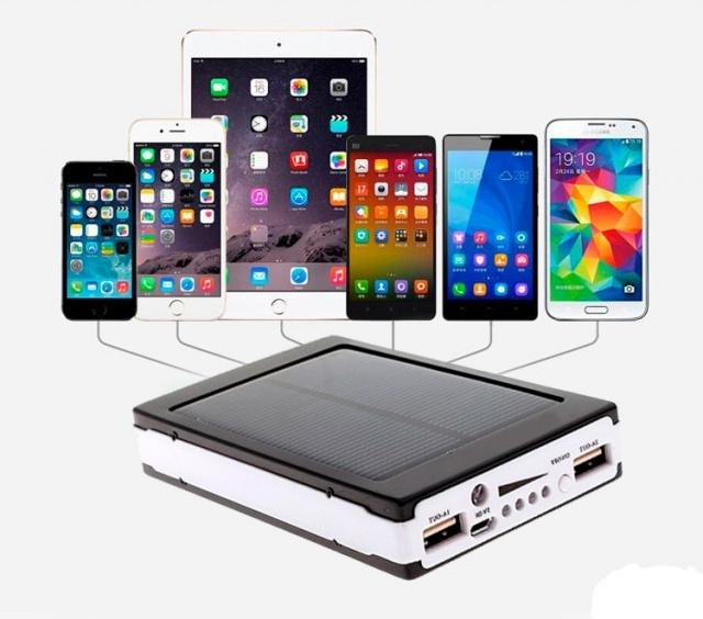 Внешний аккумулятор (power bank) Solar charger SP3806 50000mAh +20smd (три реж)+UF led