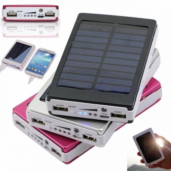 Внешний аккумулятор (power bank) Solar charger 15000mA