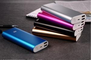 Фото Аксессуары и комплектующие для мобильных телефонов  Внешний аккумулятор (power bank) MI 16000mAh (gold, black, silver)