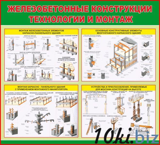 Учебный стенд    Железобетонные конструкции купить в Беларуси - Информационные стенды