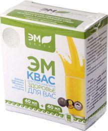 ЭМ-Квас , концентрат 40мл+питательная среда 40 мл
