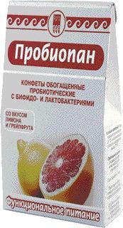 """Конфеты обагащённые пробиотические """"Пробиопан"""""""
