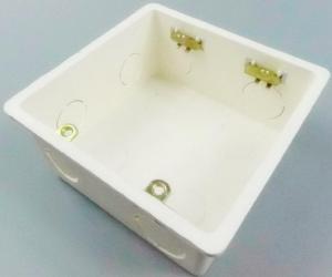 Фото Мультимедійні розетки і панелі 2-х ганговая монтажна установча коробка