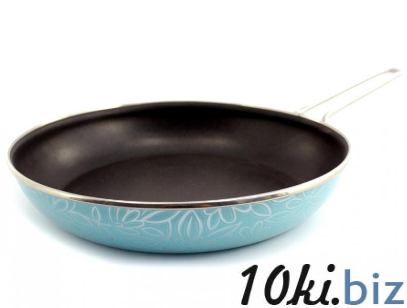 Сковорода Интерос диаметр 24см Ажур бирюзовый  Сковородки, сотейники, жаровни в Днепропетровске
