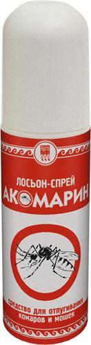 """Лосьон -спрей от комаров и мошек """"Акомарин"""""""