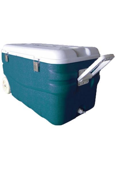 """Изотермический контейнер с высокой степенью термоизоляции, аквамарин, """"Арктика"""", 80/100 л."""