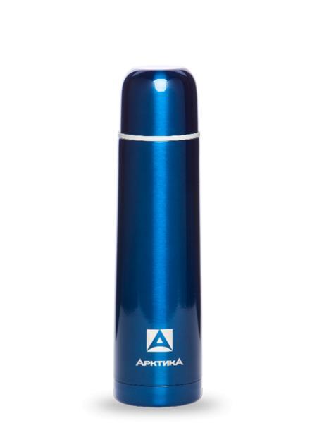 """Термос с узким горлом, синий, """"Арктика"""", 750 мл"""