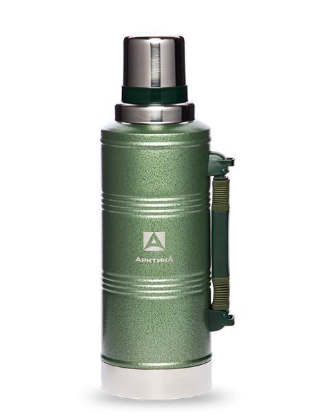 Термос с узким горлом, зеленый, 2200 мл