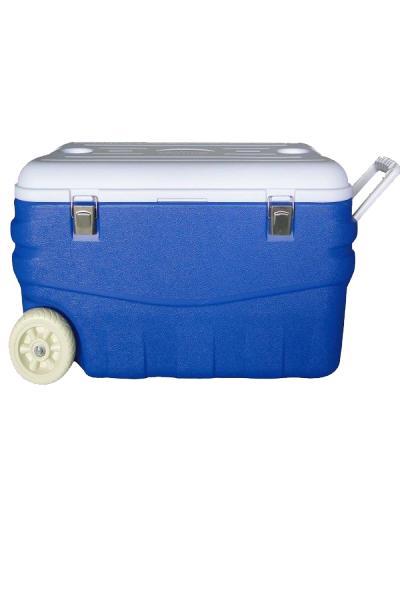 """Изотермический контейнер с высокой степенью термоизоляции, синий, """"Арктика"""", 80/100 л."""