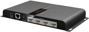 Фото Комутатори, відеостіни LenKeng LKV314VW-HDbitT Контролер-подовжувач відеостіни 2х2 HDMI на 120 м