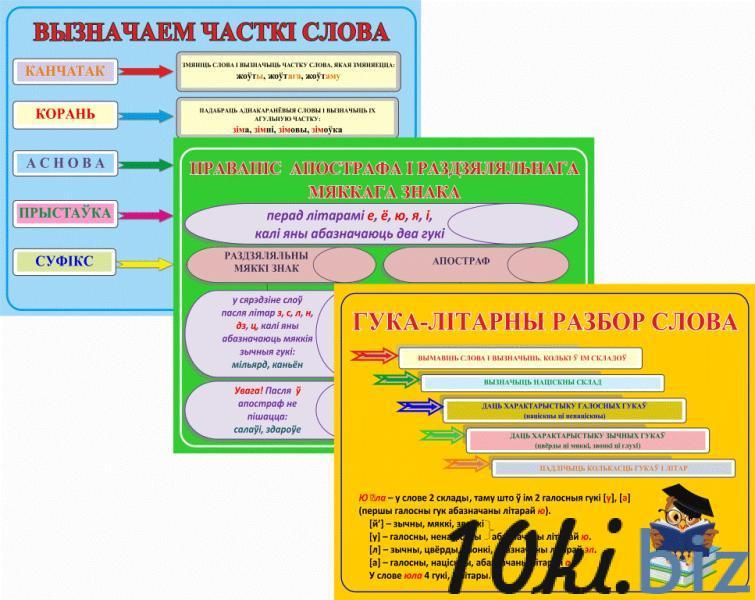 Плакаты па беларускай мове купить в Беларуси - Информационные стенды