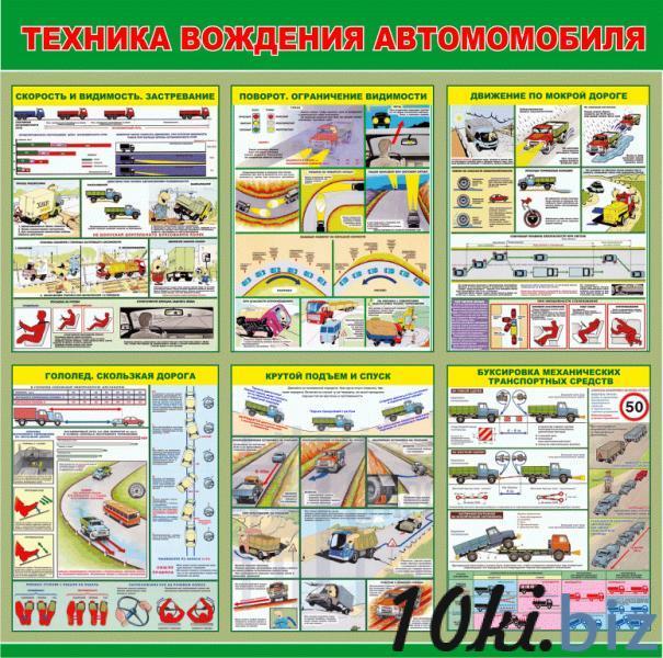 Стенд учебный  Техника вождения автомобиля купить в Беларуси - Оборудование для учебных заведений