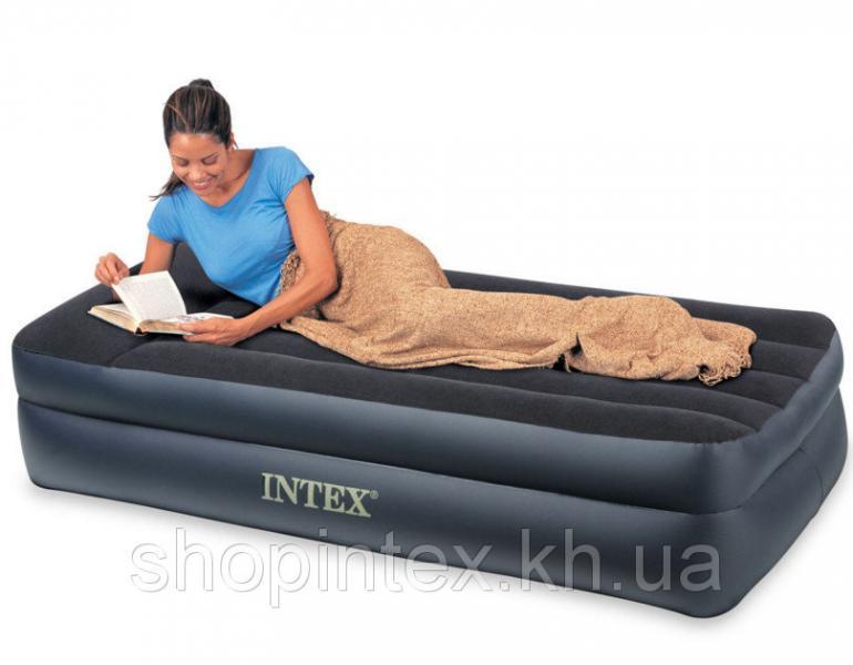 Надувная кровать Intex 66721 ,203х102х47