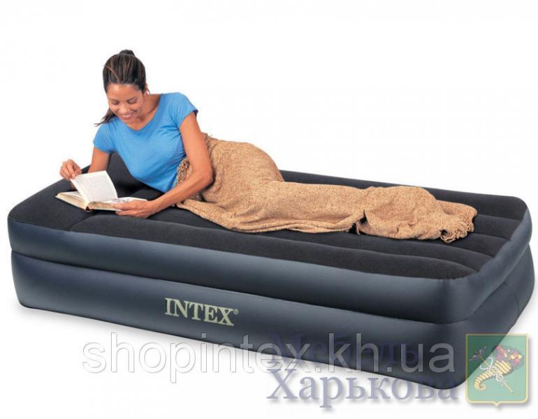 Надувная кровать Intex 66721 ,203х102х47 - Надувные кровати и матрасы для сна в Харькове