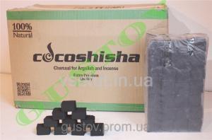 Фото Уголь для кальяна Уголь для кальяна COCOSHISHA 112 куб