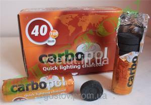 Фото Уголь для кальяна Уголь для кальяна Carbopol D40 mm