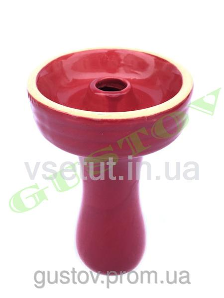 Чаша для кальяна в глазури (розовая)