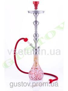 Фото Кальяны, Немецкие кальяны Aladin Кальян Aladin - Kairo Red Orange. 81 см