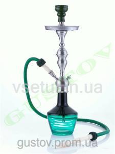 Фото Кальяны, Немецкие кальяны Aladin Кальян Aladin - Lima Black Green. 66 см