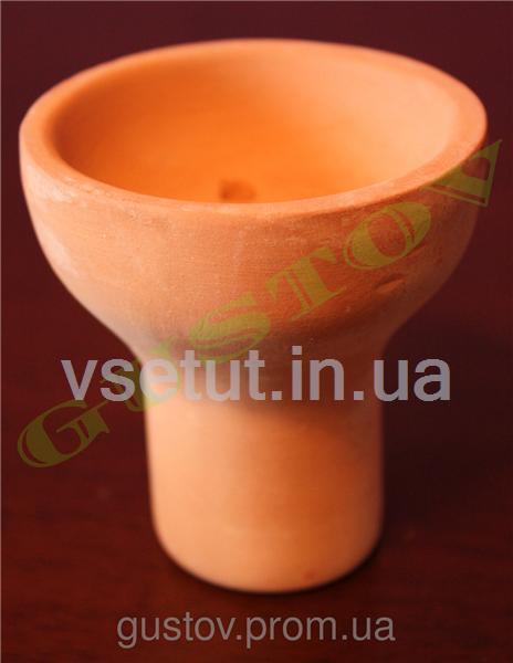 Чаша для кальяна из глины