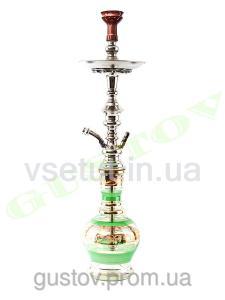 Фото Кальяны, Египетские кальяны Khalil Mamoon Кальян Khalil Mamoon - Cafe (Jumbo Premium Green). 75 см