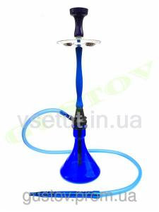 Фото Кальяны, Украинские кальяны RAINBOW HOOKAH Украинский кальян - RAINBOW HOOKAH Blue (Blue Glass) 75 см