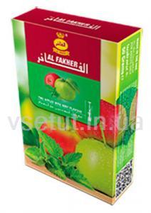 Фото Табак для кальяна Заправка для кальяна - Двойное яблоко (Al Fakher)