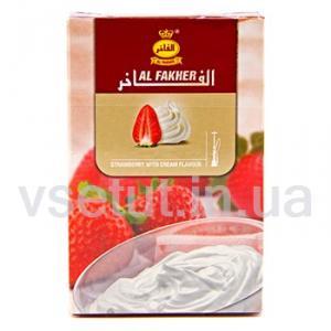 Фото Табак для кальяна Заправка для кальяна Al Fakher - Клубника+сливки