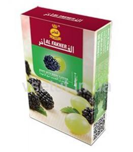 Фото Табак для кальяна Заправка для кальяна Виноград с лесными ягодами (Al Fakher)