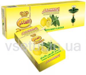 Фото Табак для кальяна Заправка для кальяна Лимон с мятой (Al Fakher)