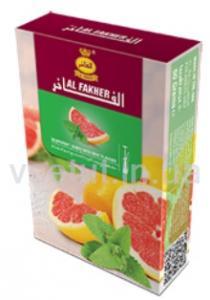 Фото Табак для кальяна Заправка для кальяна Грейпфрут с мятой (Al Fakher)