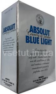 Фото Алкогольные напитки, Элитный алкоголь, Элитная водка Водка Absolut Blue Light - (Абсолют Блу Лайт) 3л