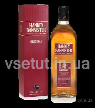Виски hanki banister (тетрапак 2л)