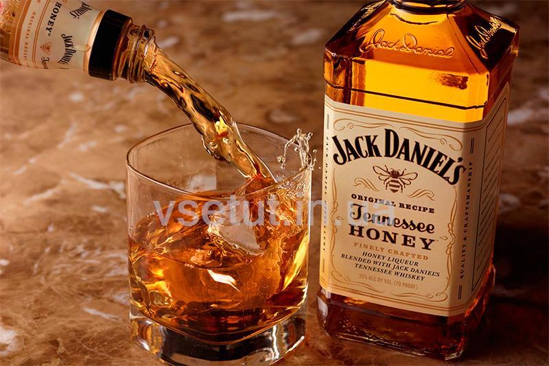 Виски Джек Дениелс медовый Тетрапак ( Jack Daniel's Tennessee Honey)