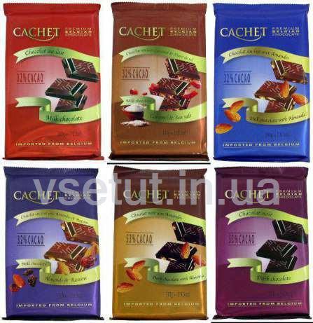 Бельгийский шоколад Кашет (CACHET) 300г