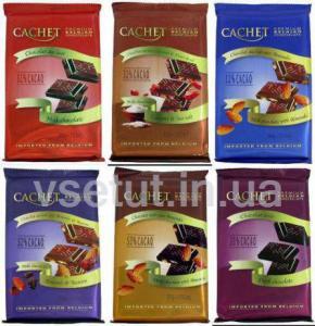 Фото Шоколад Бельгийский шоколад Кашет (CACHET) 300г