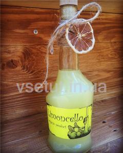 Фото Алкогольные напитки, Наливка (Настойка) Наливка Лимончелло (Limoncello) 0,5л