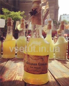 Фото Алкогольные напитки, Наливка (Настойка) Наливка Разводная Сонька 0,5л