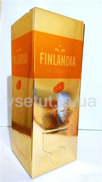 Водка Finlandia Grapefruit ( Финляндия Грейпфрут ) 2л Тетрапак