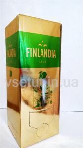 Фото Алкогольные напитки, Элитный алкоголь, Элитная водка Водка Финляндия Лайм (Finlandia Lime) 2л