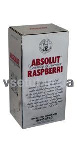 Фото Алкогольные напитки, Элитный алкоголь, Элитная водка Водка Абсолют Малина (Absolute Raspberry) 2л
