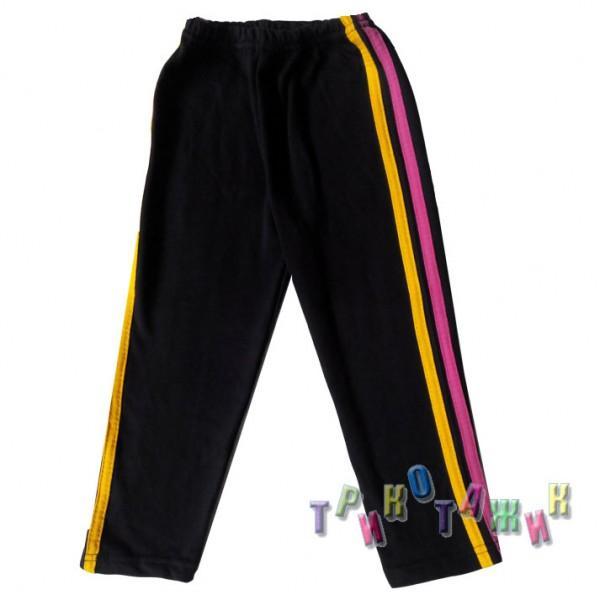 Спортивные штаны с лампасами футер однотонный