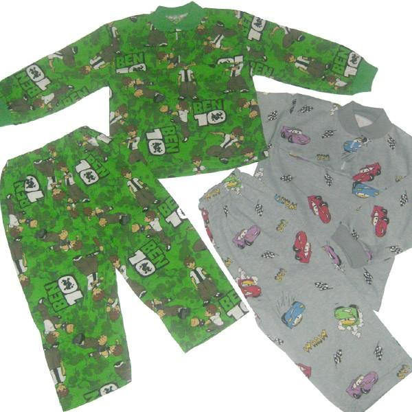 Пижама кокетка кулир цветной