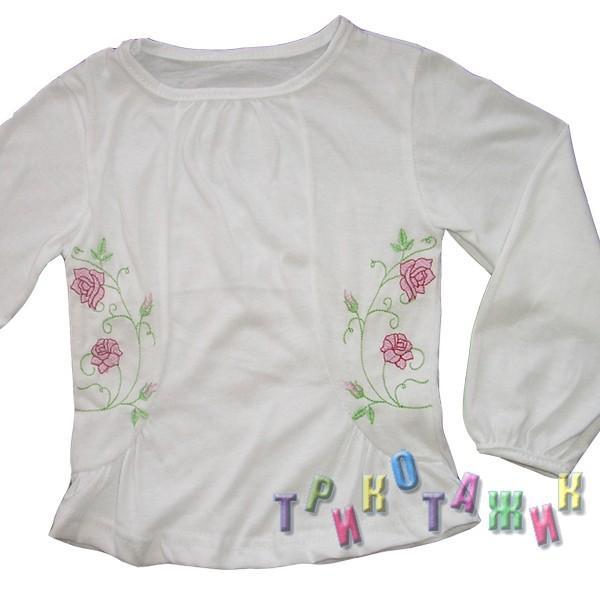 Блуза Бегония кулир пенье