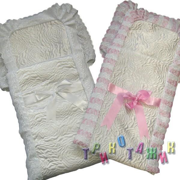 Конверт для новорожденного, стёганка
