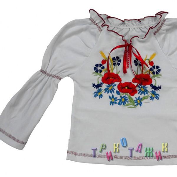 Блуза Дошкольная дл.рукав (нов)