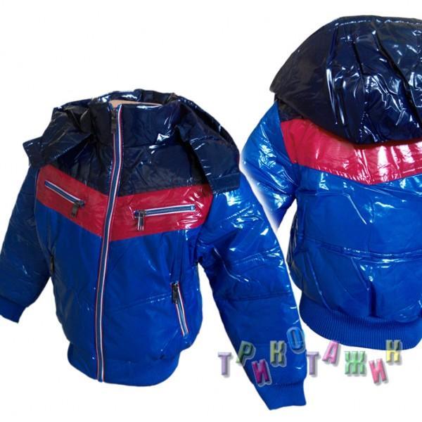 Куртка для мальчика трёхцветная. Сезон весна-осень