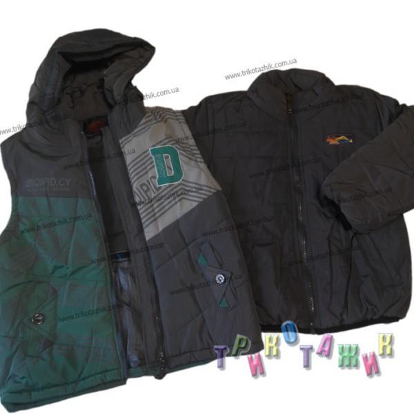 Куртка зимняя с жилеткой