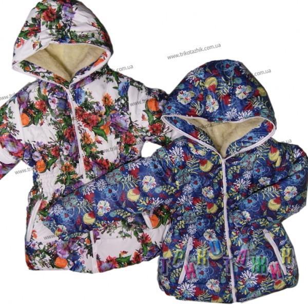 Куртка для девочки Маша (Украина). Сезон Зима.